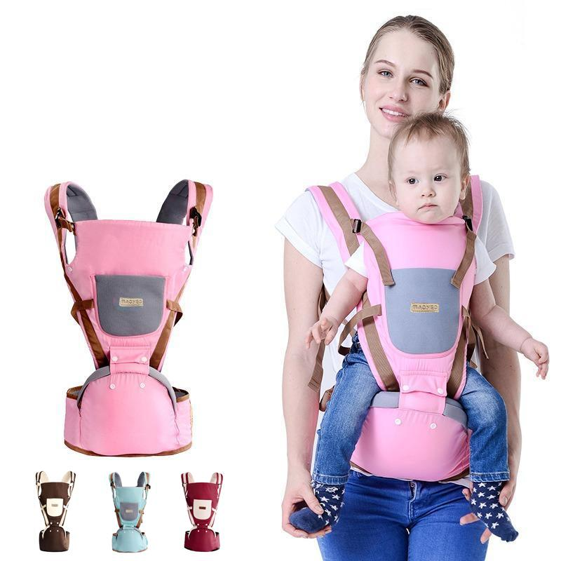 19068159550 3-36 Months Breathable Multifunctional Ergonomic Baby Carrier Infant  Comfortable Sling Backpack Hip seat Wrap