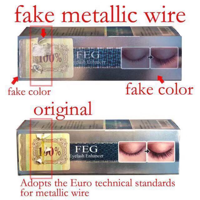 d67fe32c438 Original Feg Eyelash Enhancer Eye Lash Rapid Growth Serum Liquid 100%  Natural 3ml Us -