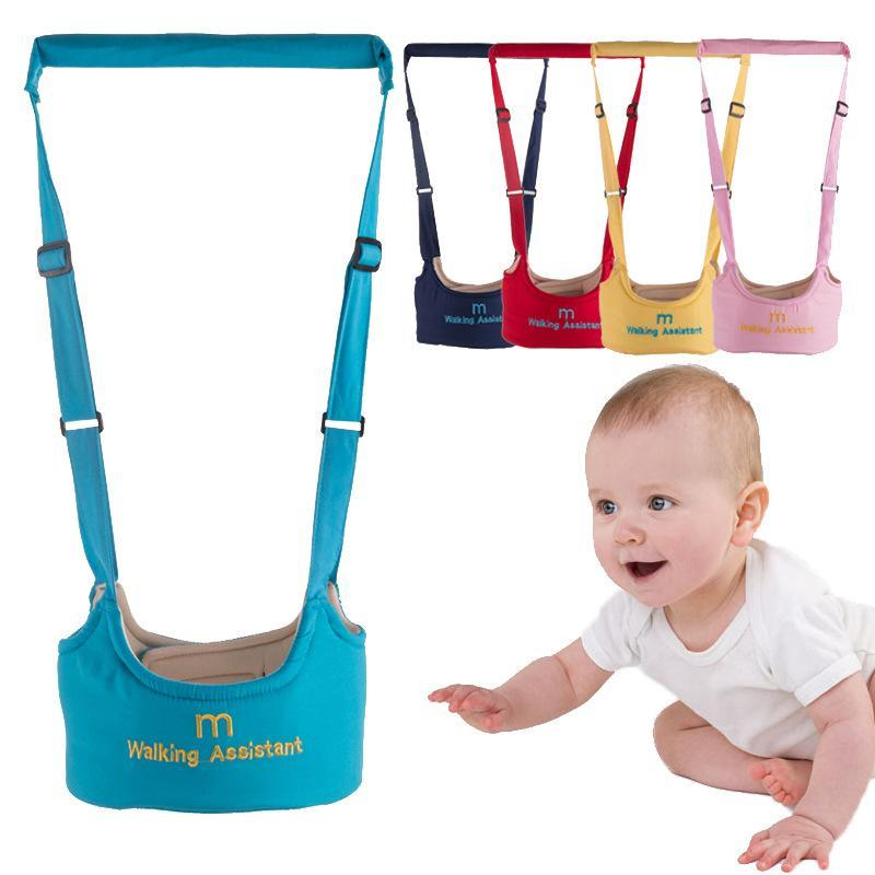 LAZADA TOP ONE Baby Toddler Walking Wings Belt Safety Harness Strap Walk Assistant Infant (RED) image on snachetto.com