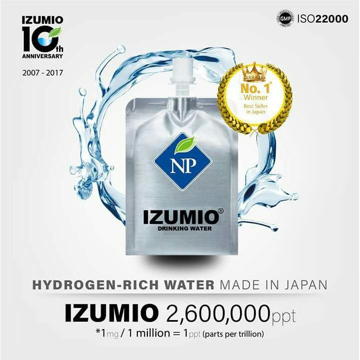 Genuine Izumio (Hydrogenated Water from Japan)