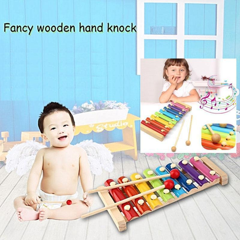Lazada Top One Mini Hand Knock Wood Piano Kids Toy Xylophone Music Rhythm Learnin In Advance By Sasung.