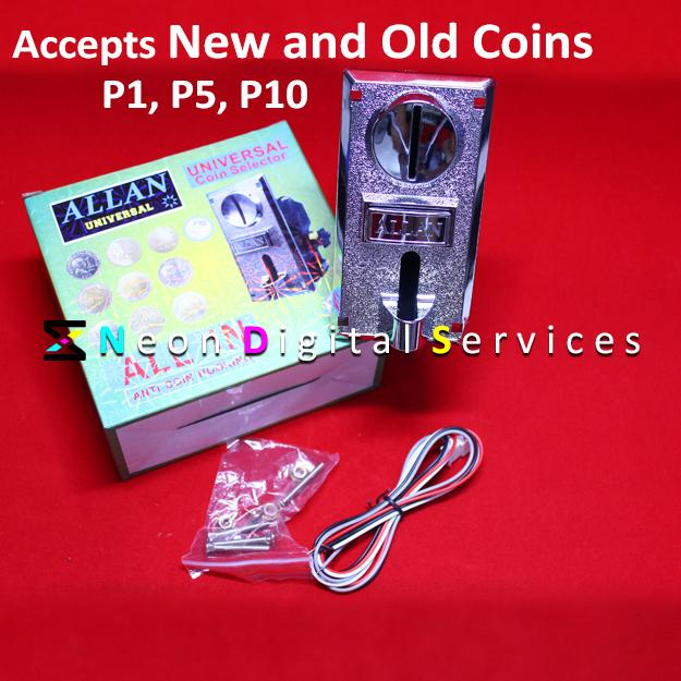 Latest Universal Coin Slot / Coinslot (allan / Suki) Pisonet / Pisowifi By Ej Dalanon Enterprise.