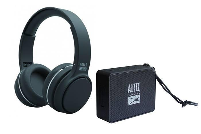 37606e5a2f1 Altec Lansing Ring N' GO & One Bluetooth Headphone (Black) - Limited Edition