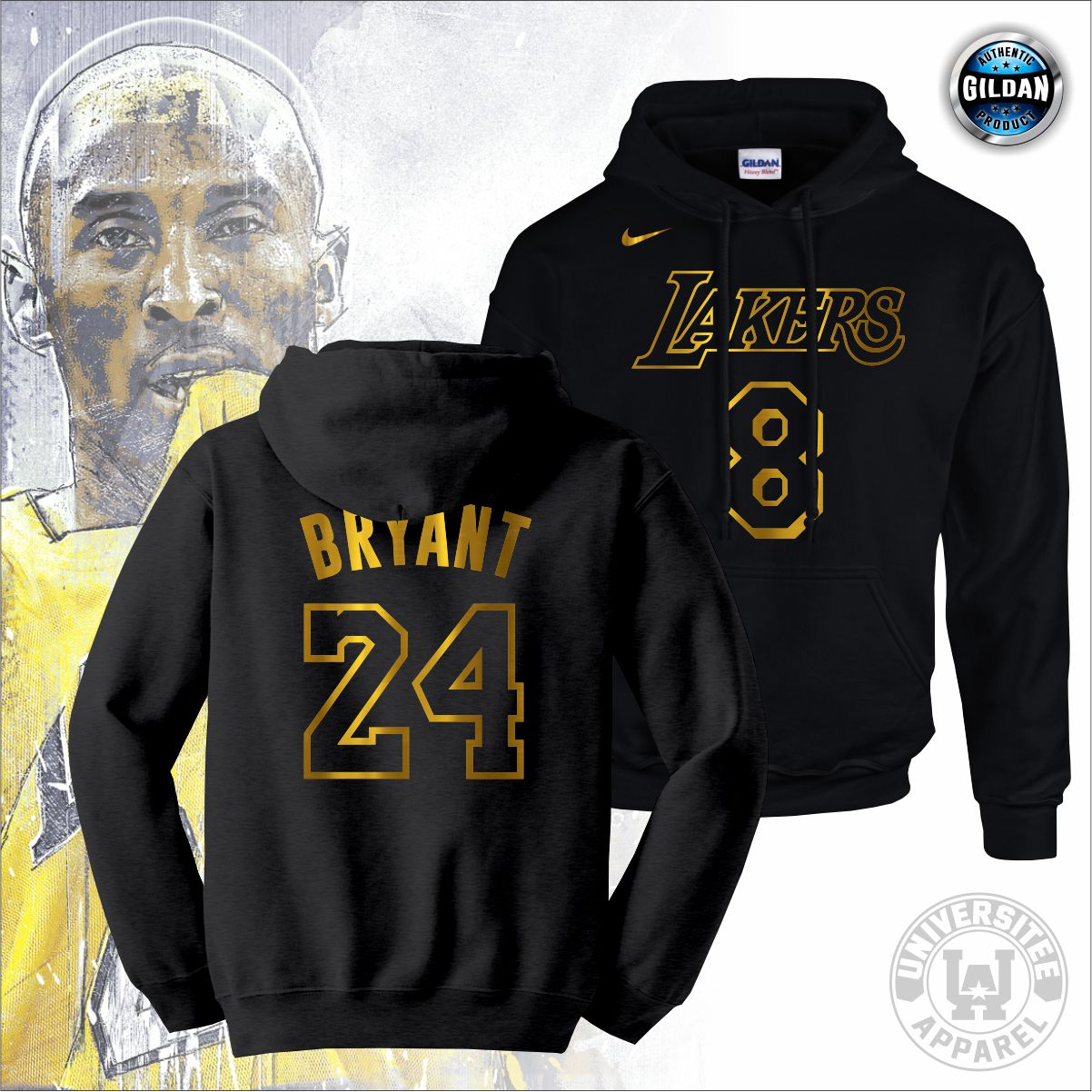 Original GILDAN Brand NBA Los Angeles