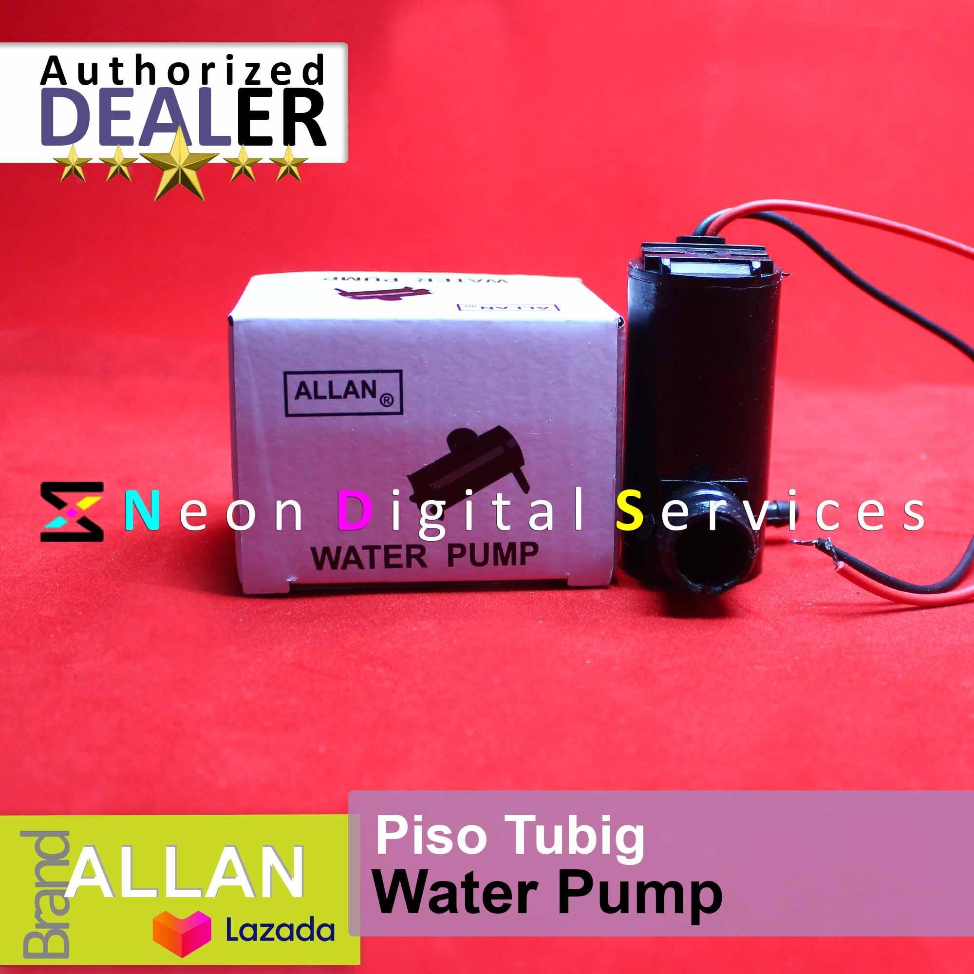 Water Pump for Water Vending Machine / Piso Tubig / Vendo Machine / Pisonet  / PisoWifi / Piso Net / Piso Wifi