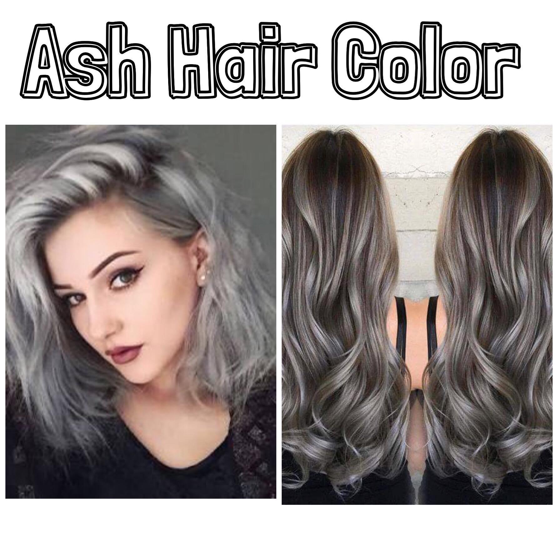 Silver Ash Ash Gray Hair Color 100grams With Developer Cream Lazada Ph