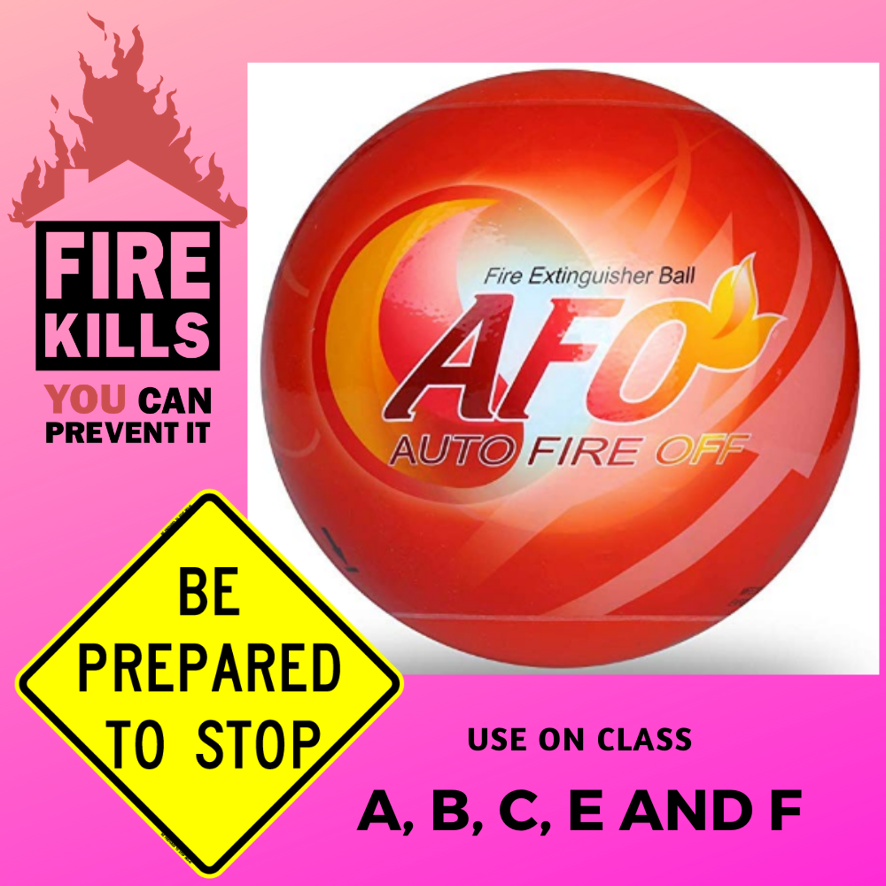 self-Activation AUTO FIRE Off Device AFO Fire Extinguisher Ball