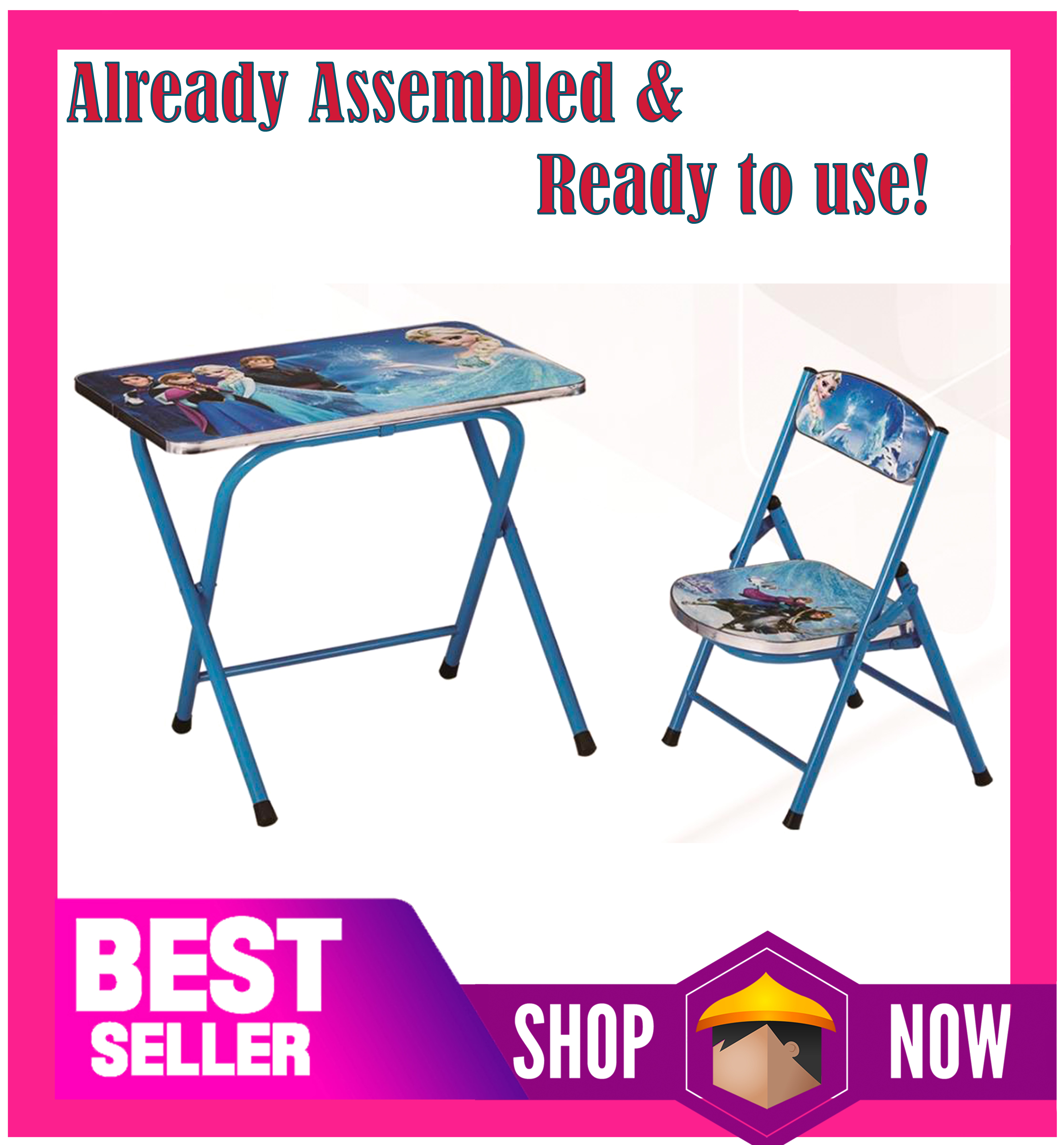 Kids Table And Chair Set Child Furniture Kids Table Kids Folding Table And Chair Lazada Ph