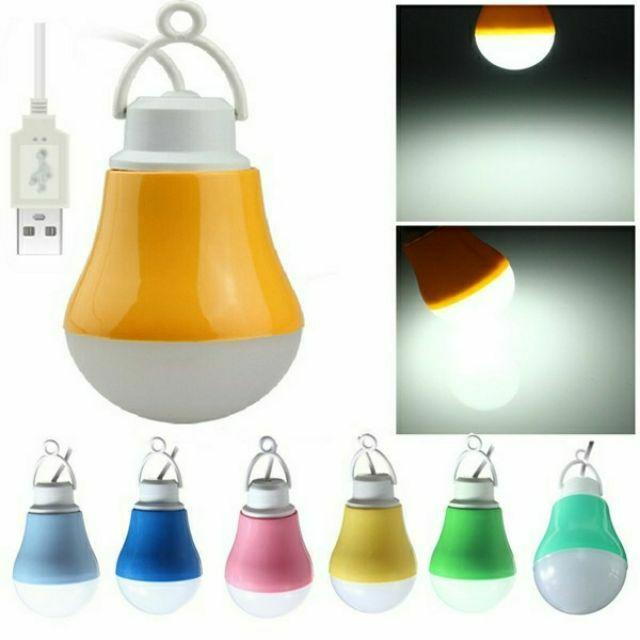 Led Usb Bulb Light Emergency Powerbank Light Energy Saving By Gudoo Shop.