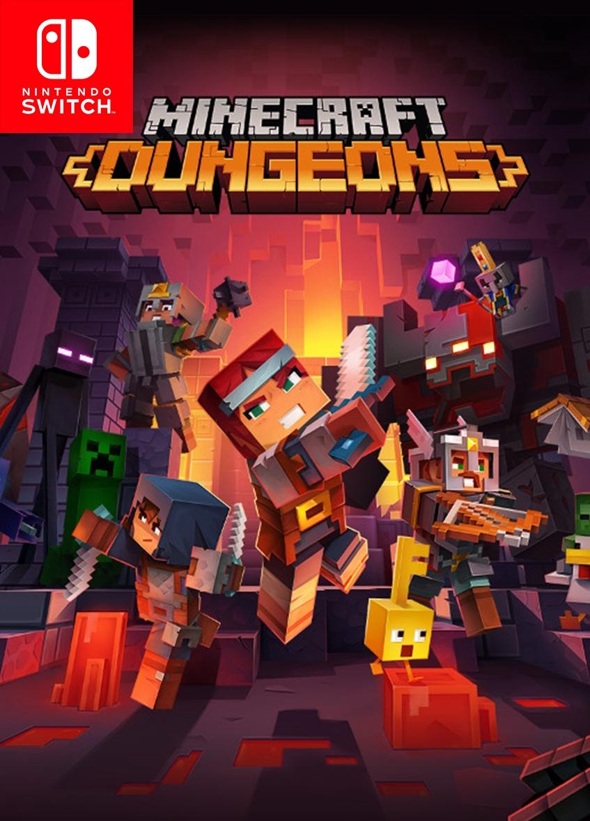 Nintendo Switch game Minecraft Dungeons PRIMARY