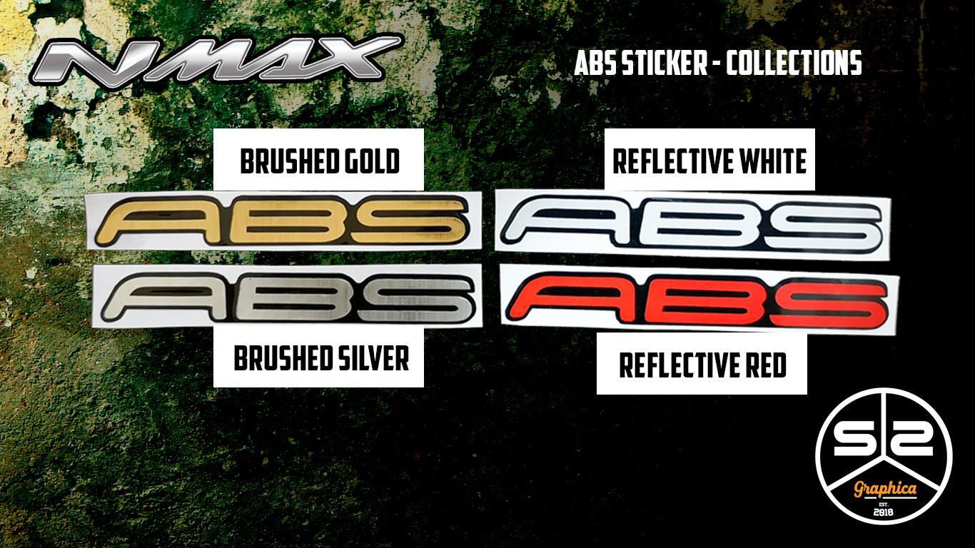 Yamaha NMAX - ABS Stickers