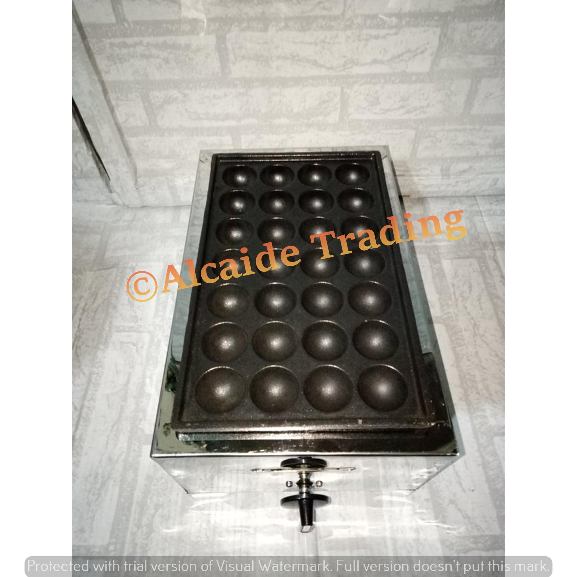 Takoyaki 28 Holes Gas Type With Free Lpg Hose (locally Made) By Alcaide Store.