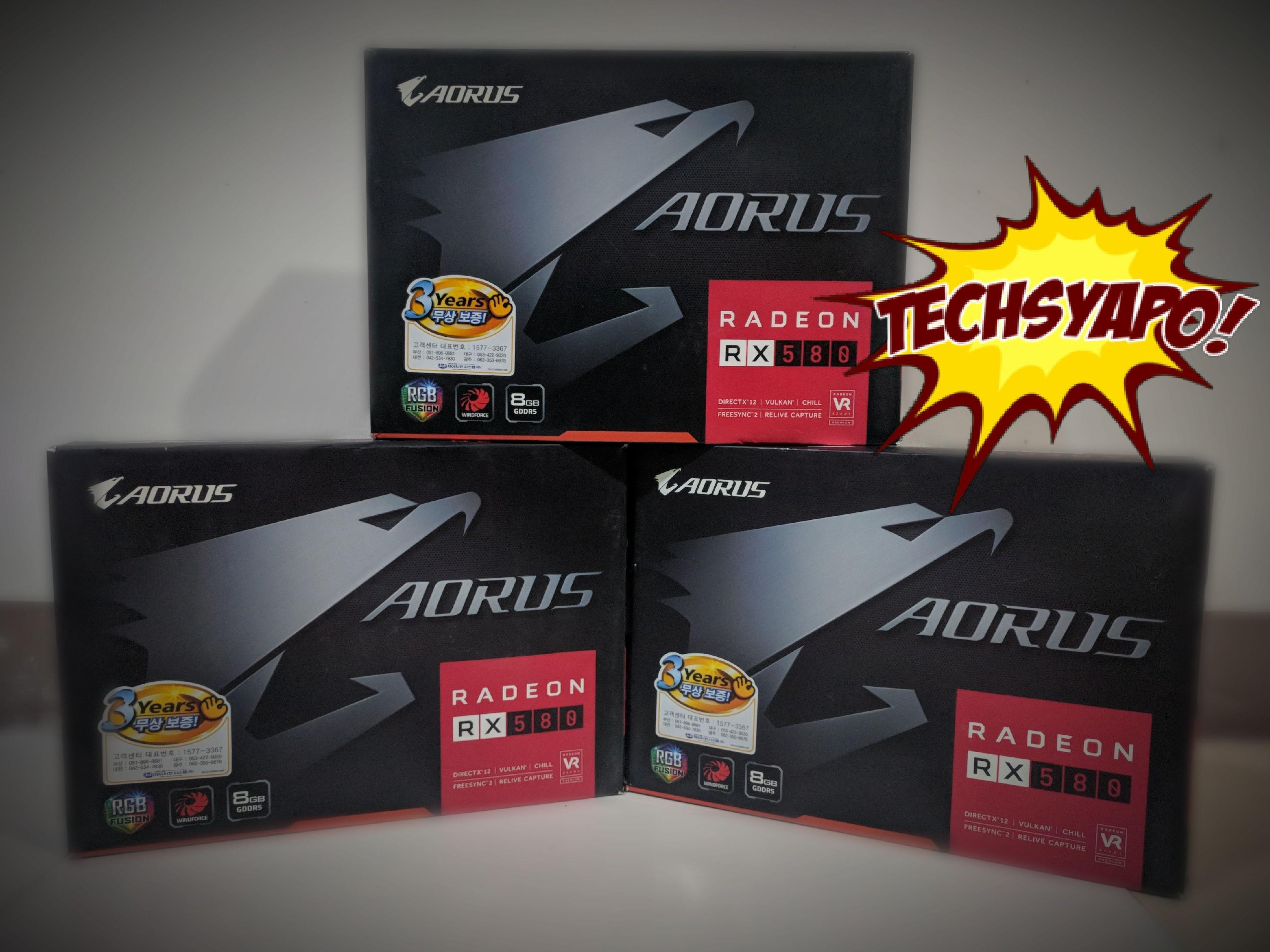 Aorus RX 580 8GB (Used)