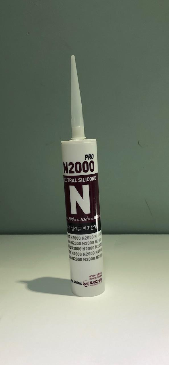 Silicon Sealant CLEAR- BLACK, All Purpose Sealant, N2000 Silicon Sealant,  Roof Sealant 1PC