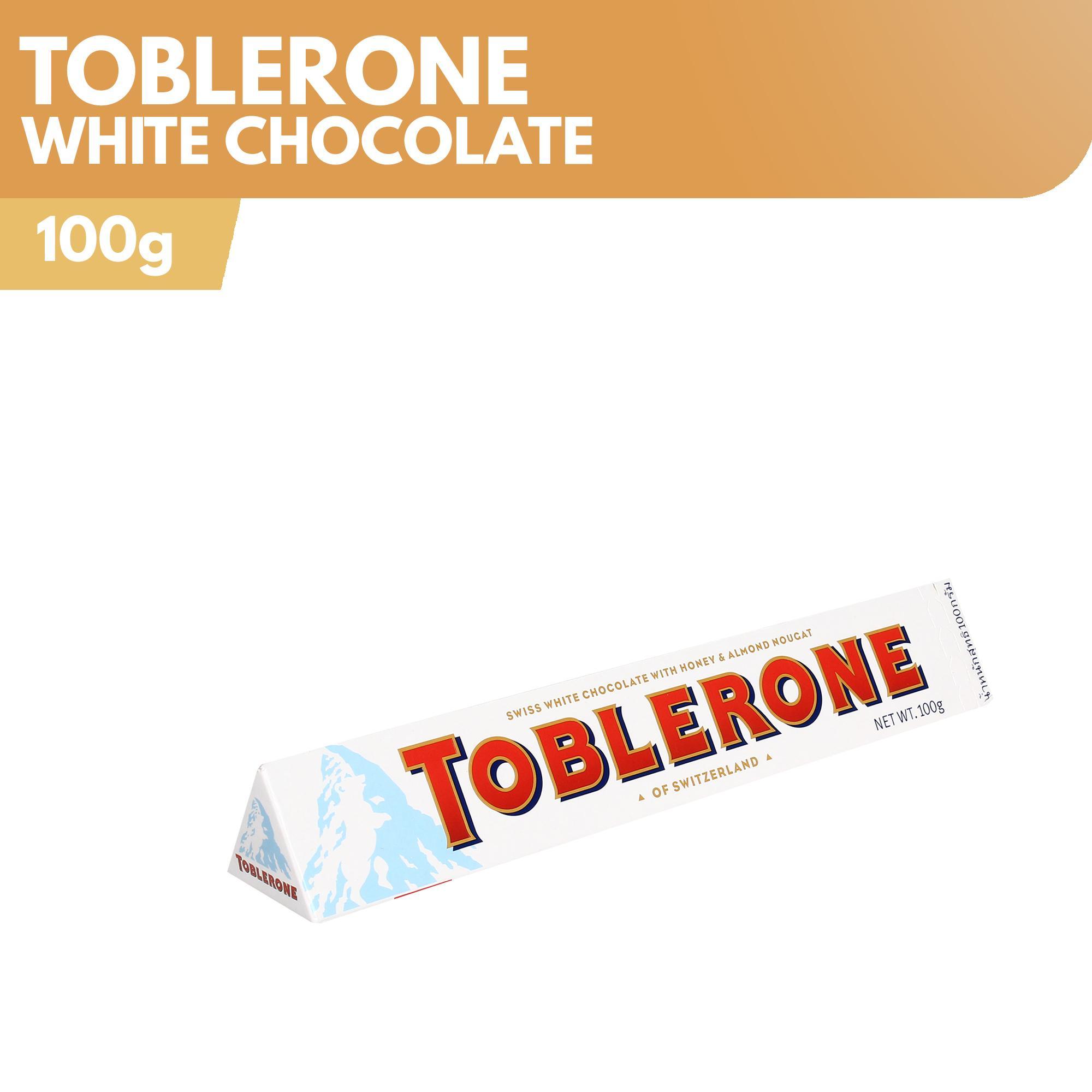 Toblerone White Chocolate 100g