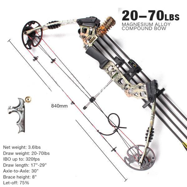 Archery Junxing M120 Dream Compound Bow Set Lazada Ph