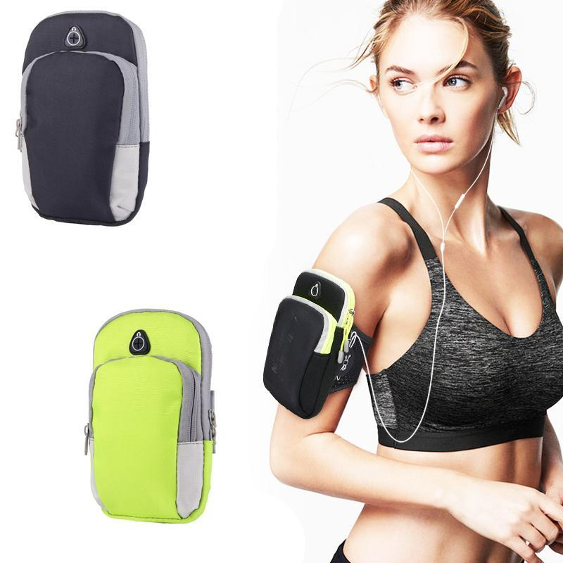 LAZADA TOP ONE Unisex Running Bags Arm Bag Sports outdoor arm package mobile  phone arm bag a23022f613b78