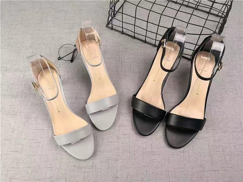 Korean High Heel Block Heels 2inch Rl-311 By New Style.