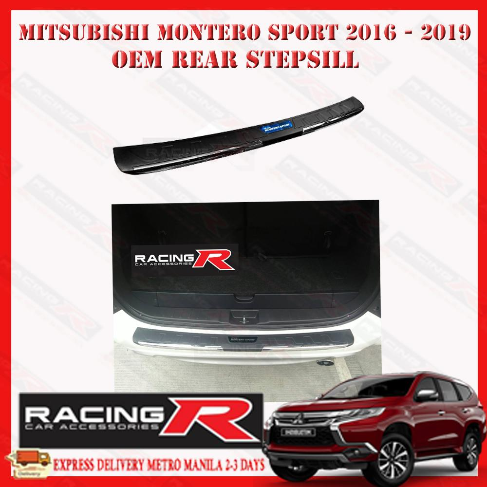 Mitsubishi Montero Rear Bumper Stepsill Guard 2016 - 2019