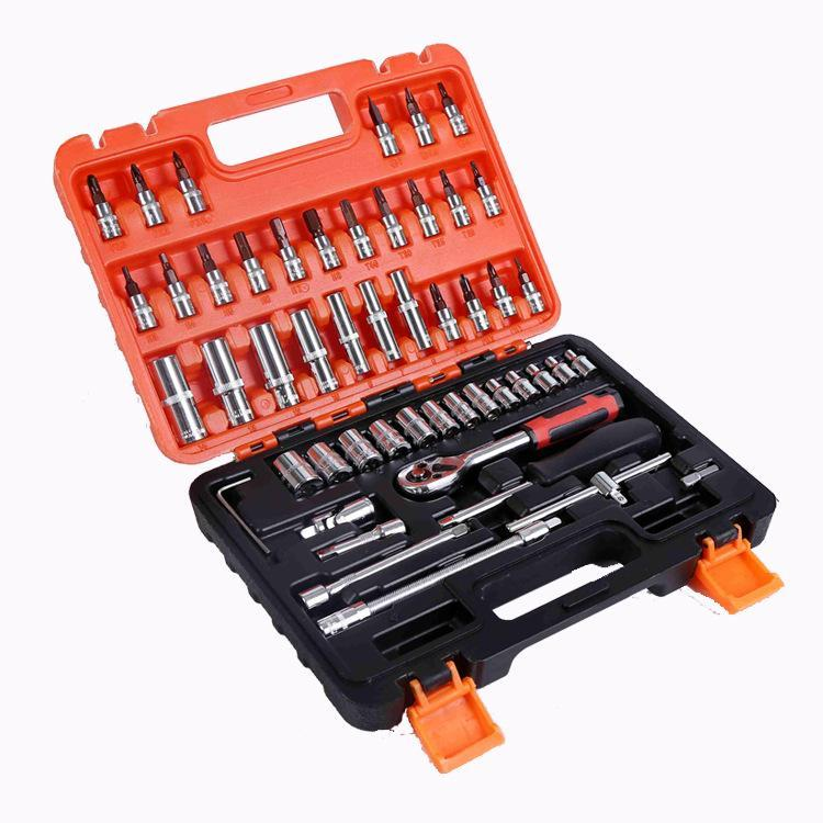 53 pcs Spanner Socket Set Ratchet Wrench Set Car Repair Tool