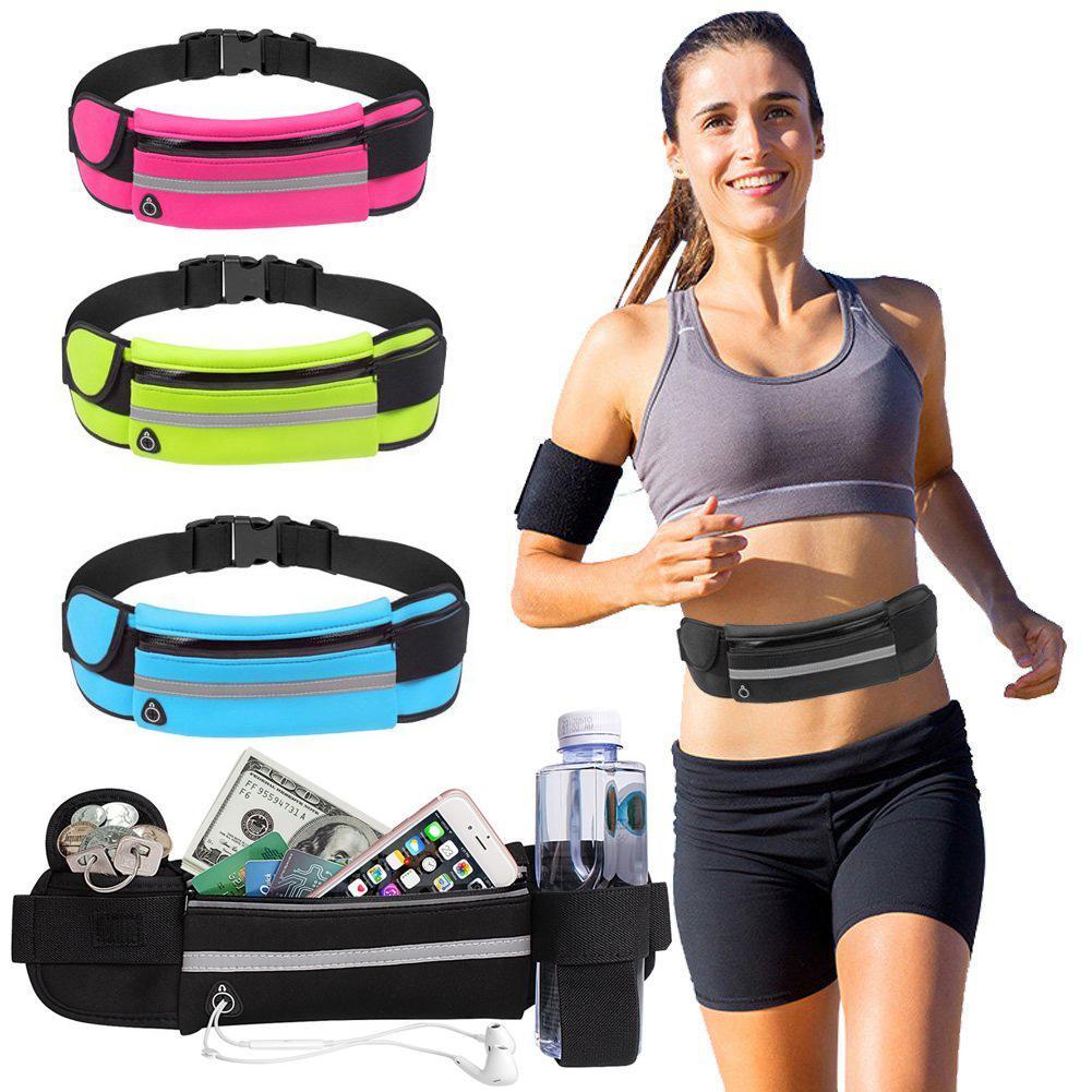 Outdoor Sports Running Waist Bag Phone Case Pack Belt Fanny For Men Women Jogging Gym Fitness Waist Belt Wallet Pocket Relojes Y Joyas