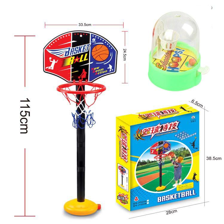 Lazada Top One 2 In 1 Kids Sports Portable Basketball Toy Set With Stand & Pump Toddler Baby Durable By Best Good Quality.