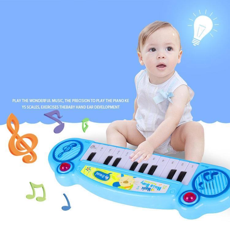 Lazada Top One Baby Electronic Organ Musical Instrument Birthday Present Kid Wisdom Deveop By Sasung.