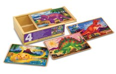 Melissa & Doug Puzzles In A Box Dinosaurs By Ogalala.