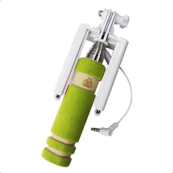 Mini Foldable All-In-One Monopod with Remote Clicker (Green) - picture 2