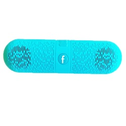 Mini Music Box C-87 Bluetooth Speaker (Blue)