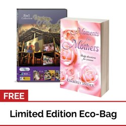 Moments for Mothers: Daily Devotions for Women + Usapang Pamilya DVD Collection Volume 1 with FREE Eco Bag