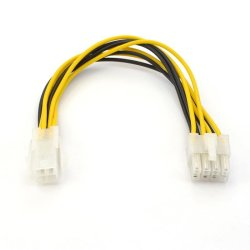 Motherboard Power Supply Adapter Cable 4pin to 8pin EPS 12V ATX