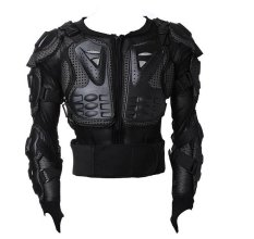 Motocross Racing Motorcycle Armor Protective Jacket Large (black) By Happy Choice.