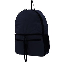 MSV Lightweight Folding Bag Casual Daily Backpack ZD-12 (Navy blue)