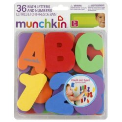 Munchkin Bath Letters and Numbers