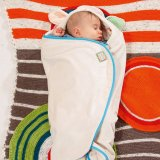 MY FIRST NICI Baby Hooded Blanket Lamb Plush - thumbnail 2