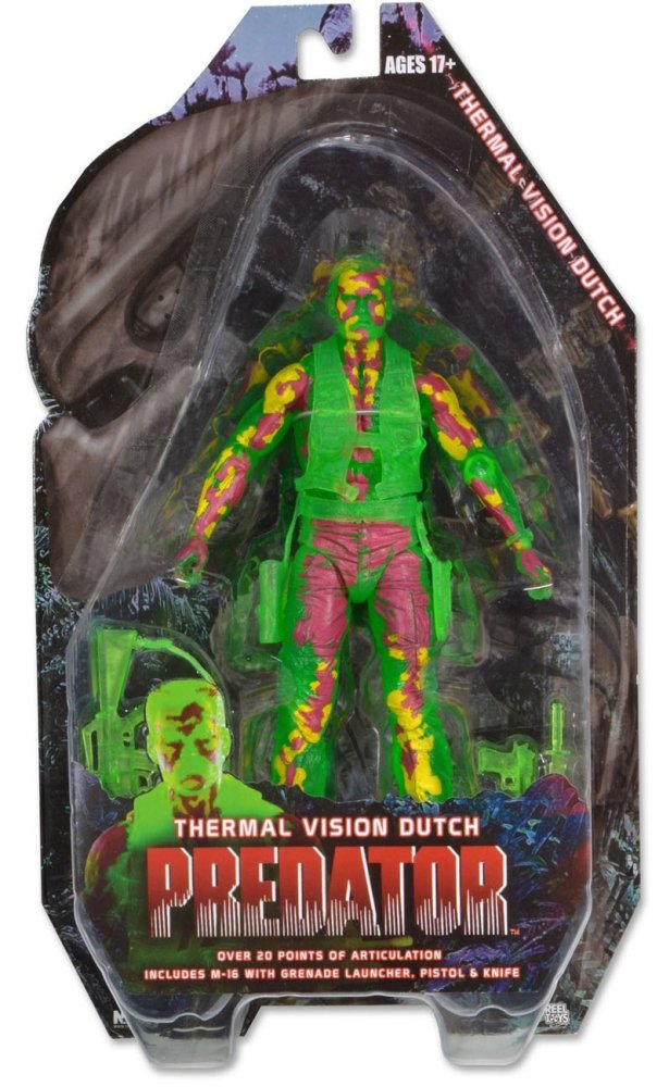 Neca Thermal Vision Dutch Action Figure ( Multi Color ) - thumbnail