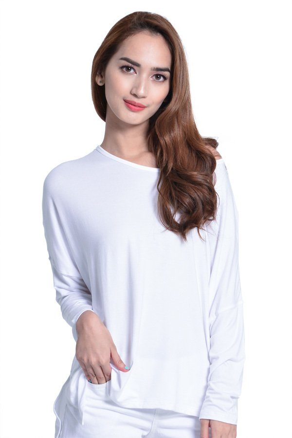 Next 92-006 Loose Uneven Cut Top White product preview, discount at cheapest price
