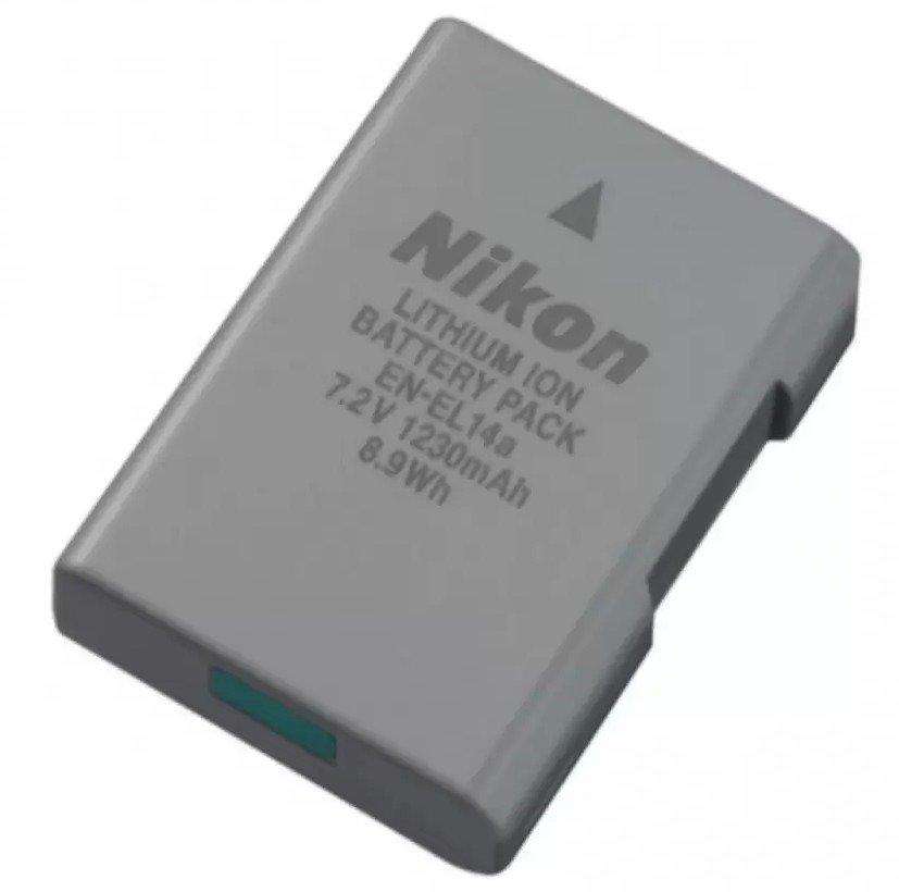 Nikon EN-EL14a Rechargeable Battery - thumbnail