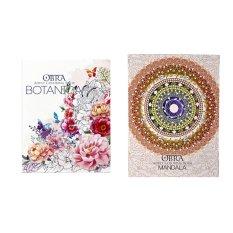 Obra Adult Coloring Book Botanica And Mandala