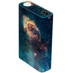OddStickers Galaxy Skin Cover for Asus ZenPower (Multicolor)