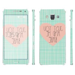 Oddstickers Samsung Galaxy A5 Just You And Me Babe Phone Skin