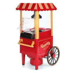 Old Fashioned Popcorn Movie Time Maker (Red)