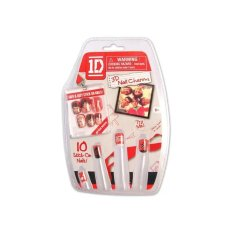 One Direction Easy Stick-on 3D Nails Charms