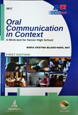 Oral Communication In Context By Wisemas Books Trading, Inc.