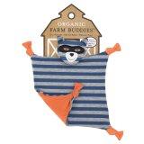 Organic Farm Buddies Robbie Racoon Blanket Multicolor - thumbnail 1