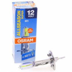 OSRAM H1 All Season Headlight Replacement Bulb 2800K 12V 55W