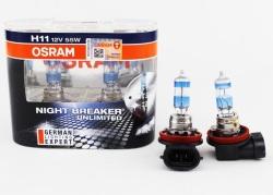 Osram Night Breaker Unlimited H11 headlight / foglight bulb PAIR