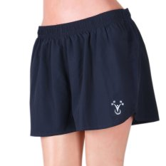 84e329293338 Outperformer Womens Shorts with Drawstring and Inner panty lining (navy)