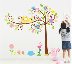 Owls On A Tree Wall Sticker (X LARGE)